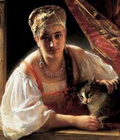 1865  Konstantin Egorovich Makovsky (Russian, 1839–1915),    Joslyn Art Museum Omaha Nebraska