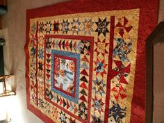 """The Cowboy Quilt. My daughter calls it """"The Man Quilt"""""""