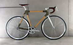 Faserwerk 'Bamboo Bike' designed by Tobias Meyer