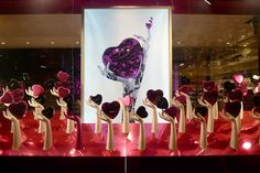 window at Fauchon, Paris via journaldesvitrines blog