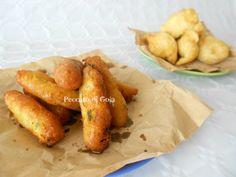 Zeppole e panzarotti sono il cibo da strada maggiormente consumato a Napoli. Cibo da strada poco raffinato nella presentazione ma grande sapore.