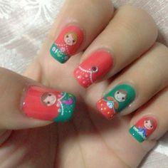 Russian Doll Nail