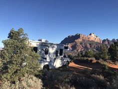 "Free camping near Zion  ""Stayed here last night - painfully slow (30 mins+) getting our 23ft RV up to the top (we knew it would be though from the reviews), but amazing views at the top and free!"" - matticace"