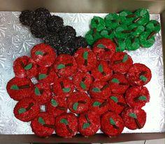 Apple picking cupcake- cake