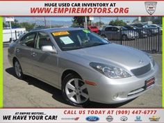 Montclair CA 2005 Lexus ES 330 with Navigation Used Car at Empire Motors in Montclair Ca www.empiremotors.org