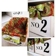Diaper boxes to storage bins