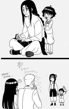 Even Naruto - - Naruto Kakashi, Naruto Uzumaki Shippuden, Naruto Comic, Anime Naruto, Tenten Y Neji, Naruto Fan Art, Wallpaper Naruto Shippuden, Naruto Cute, Naruhina
