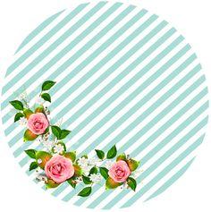 Su yeşili renklerde genç kız doğum günü için hazırladığım etiketler ve su sargılarını güle güle kullanın. Su Yeşili Renklerde Genç Kı... Shabby Chic Theme, Shabby Chic Frames, Flowery Wallpaper, Flower Phone Wallpaper, Flower Circle, Flower Frame, Eid Crafts, Diy And Crafts, Picture Borders