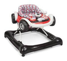 Baby will love motoring around in Delta Children's lil' drive walker. Featuring realistic car details, the removable toy tray is topped with a shifter and movable steering wheel, as well as lights and sounds that help stimulate early development.