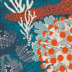IHR Marimekko Merivuokko Blue Printed 3-Ply Paper Luncheon Napkins Wholesale L575640