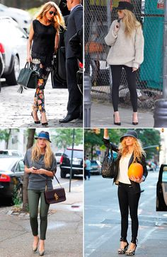 BLAKE LIVELY STYLE ICON | Collage Vintage  Right side only.