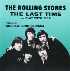 The Rolling Stones - picture sleeve - 1965.