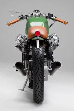 RISE OF THE MASCHINES. Another Killer Moto Guzzi from Germany's Kaffee Maschine - Pipeburn.com