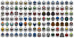 Can you name every clone?