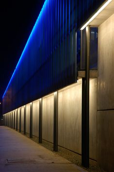 Architecture Design Lighting skylight and light well with led strips hidden along the two long