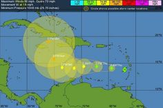 Tropische storm bedreigt verkiezingen Curaçao - Telegraaf.nl