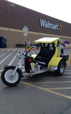 Have trike, will travel?