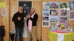 Antonio Scaramella ed Aldo Zolfino alla mostra Luci e Colori 28/01/2017