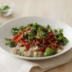 Vegetable Stir-Fry with Cauliflower Rice Recipe
