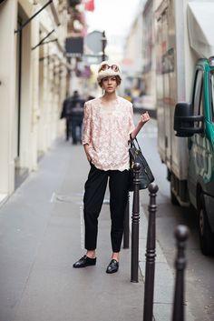 STOCKHOLMSTREETSTYLE : Ruby Jean Wilson Model off Duty