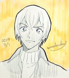 Amuro Tooru, Romantic Manga, Magic Kaito, Conan, Bourbon, Anime Art, Cartoon, Twitter, Drawings