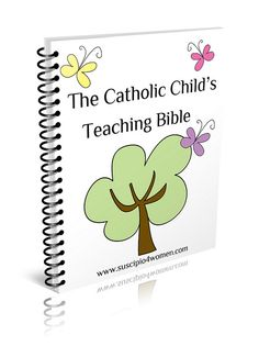 Catholic Child's Teaching Bible {Book review}...and giveaway!  Come visit *my desert heart* blog for the opportunity to win your own copy.