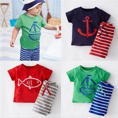 $7.42 (Buy here: https://alitems.com/g/1e8d114494ebda23ff8b16525dc3e8/?i=5&ulp=https%3A%2F%2Fwww.aliexpress.com%2Fitem%2FSummer-Child-Boys-Clothing-Sets-Fashion-Toddler-Cotton-Casual-Active-T-Shirt-Shorts-Children-Short-Sleeve%2F32627904190.html ) 2017 Baby Boy Clothes Summer Baby Boy Clothing Sets Fashion Kids Clothing Newborn Baby Clothes Short Sleeve Children T-shirt for just $7.42
