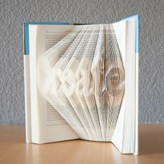 CreateFolded Book Art Book LoversReadHome by HappyLittleGifts, $110.00
