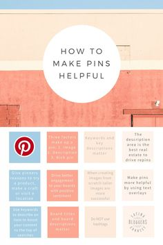Pinterest 101: How to Make Your Pins Helpful