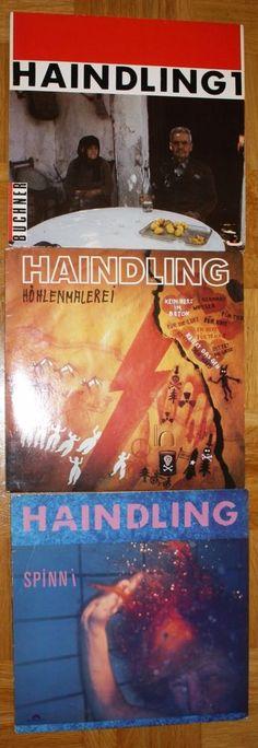 5x HAINDLING 12  VINYL DEUTSCH POP ROCK BAIRISCH