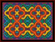 Fractal 146 - Cross Stitch