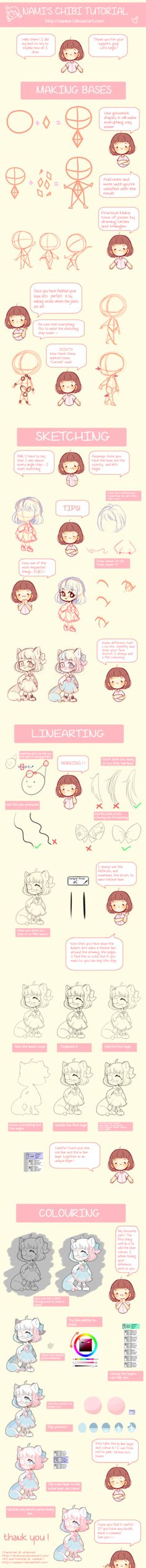ULTIMATE CHIBI TUTORIAL by Namine-L on DeviantArt