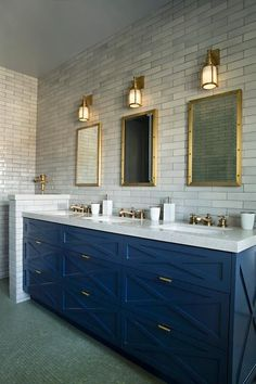 Contemporary shared boys' bathroom