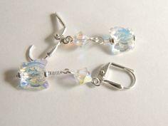 Swarovski Crystal Earrings Bridal Earrings by AlwaysCrafty77, $16.00