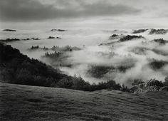 Ansel Adams, Clearing Storm, Sonoma County Hills, California, 1951.