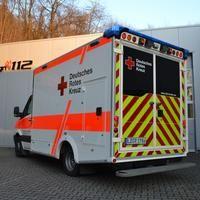 Rtw Des Drk Landau Feuerwehr Fahrzeuge Einsatzfahrzeuge Rettungsdienst