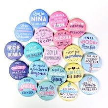 Comprar Mr Wonderful chapas despedida