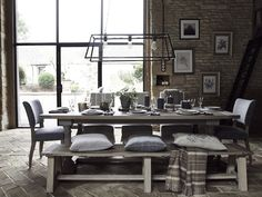 Neptune Balmoral Rectangle Dining Table   Dining Room Furniture
