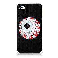 Patrón Eyeball original Marco Transparente de nuevo caso para el iPhon...