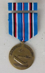 American Campaign - Obverse with Ribbon.png from World War II