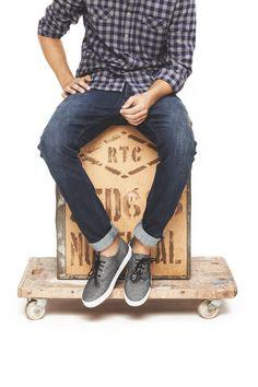 Vans shoes, Denham jeans // #Studio25Finland