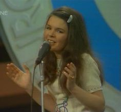 Dana, the winner of the Eurovision Song Contest 1970…