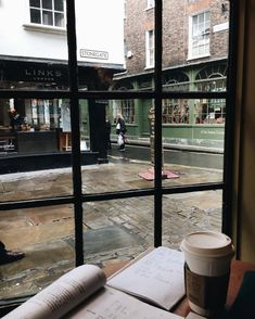 """Coffee the-cozy-study: """"""""Getting little work actually done with this view - theegglife """" """" you can find similar pins below. We have brought the best o. College Aesthetic, Study Space, Coffee And Books, Study Hard, Book Aesthetic, Studyblr, Study Motivation, College Motivation, Student Life"""