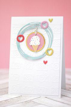 Sechs Karten mit dem Freckled Fawn Juni Kit    Scrapbook Werkstatt Design Team Member Julia Klein  #cardmaking #freckledfawn #diecutting #greetingcard #handmade