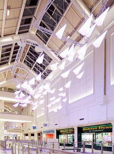Nulty - County Mall, Crawley - Interior Retail Centre Scheme Light Installation Lighting Design