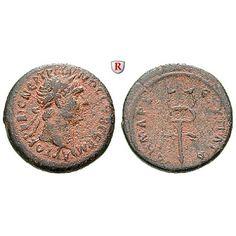 Römische Provinzialprägungen, Seleukis und Pieria, Antiocheia am Orontes, Traianus, Bronze 98-99, ss: Seleukis und Pieria,… #coins