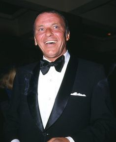 Frank Sinatra. The man always looked good in a tux.