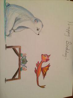Savannah's birthday card- pencils