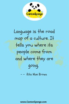 #Quote for #language learners Awesome Quotes, Best Quotes, Cantonese Language, Classroom Posters, Learning Activities, Languages, Spanish, Things To Come, Mood