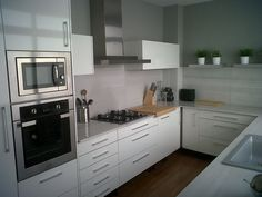 My White and Wood Kitchen!